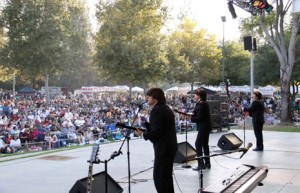 VCC concerts on the green