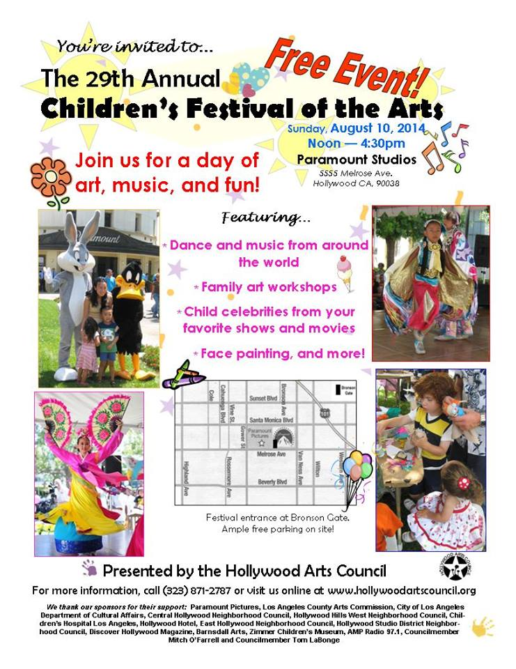 Childrens-Festival-Hollywood-Arts-Council-