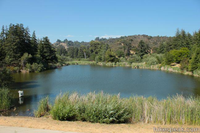 Franklin Canyon Lake, Franklin Canyon Park